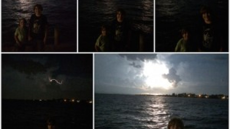 Awesome Lightning Storm!