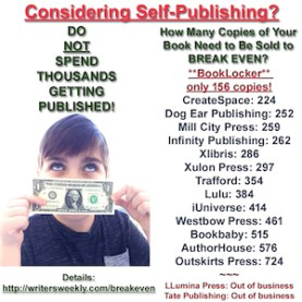 Considering Self Publishing?