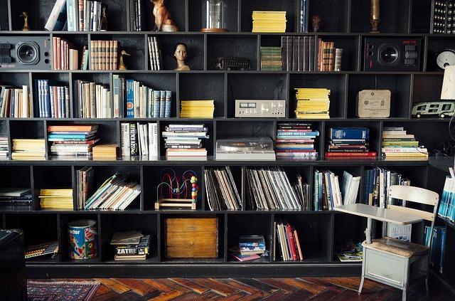 Book, Shelves