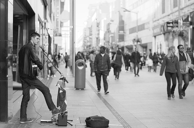 My Hobby of Profiling Street Musicians Turned Into a Paying Gig! by Marco Gallerani
