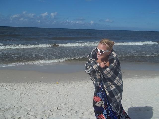 Cold, Beach