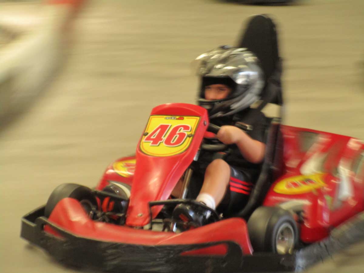 Go Karts…That Go 50 MPH?!?! What???