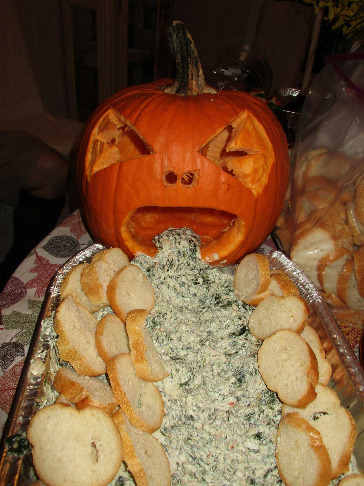 Pictures of Truly Disgusting Halloween Treats from The Party! Yum!