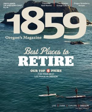 1859 Oregon's Magazine, Statehood Media