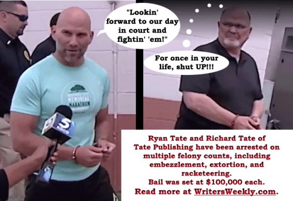 """""""Tate Publishing agreed to reimburse their victims but I never submitted a claim! What can I do?"""""""