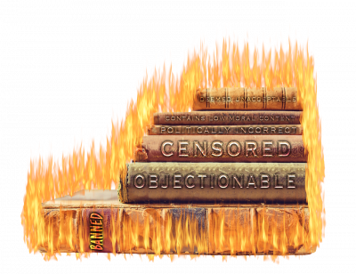 Amazon's on a Digital Book Burning Spree – Could YOUR Book Be Next? Whispers and Warnings for 04/10/19