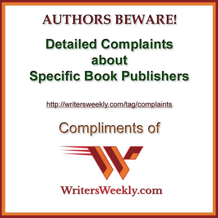 ComplaintsAboutPublishers