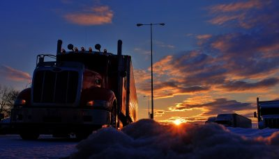 Trucker's Insanity Leads to a Collection of Insane Short Stories about Trucking!  – Chris Hanly