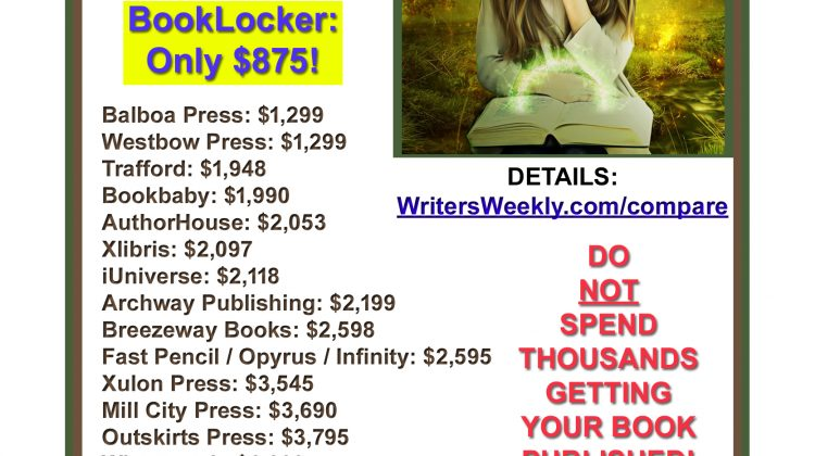 2021 Self-Publishing Price Comparison!