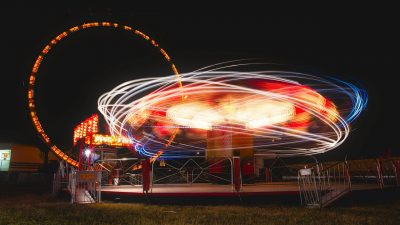 CRAZY Wind and the Shower Tilt-a-Whirl – WHOO HOO!!
