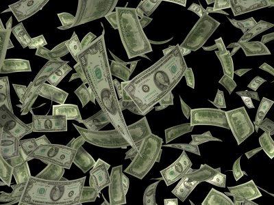 Money, Falling