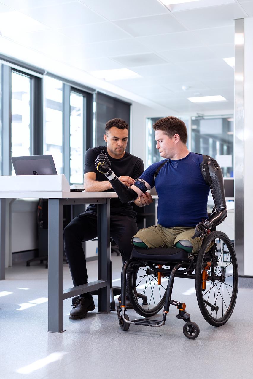 Wheelchair, Office