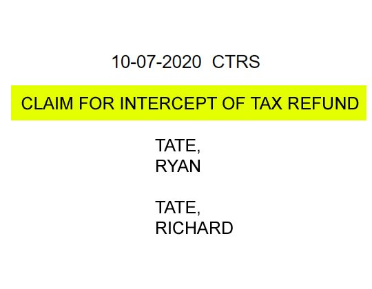 """Tax Refunds of Tate Publishing's Owners Will Be """"Intercepted"""" by the Oklahoma Attorney General"""