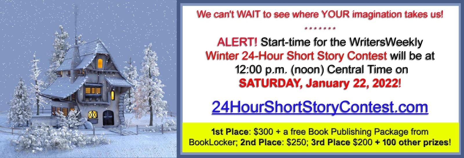 Fall 2020 24 Hour Short Story Contest