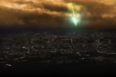 GIANT Green Fireball in the Sky!!